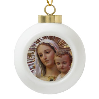 Our Lady of Mount Carmel Christmas Ornament