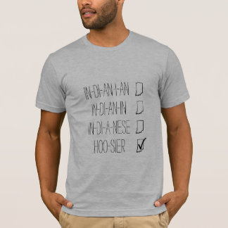 Person of Indiana T-Shirt