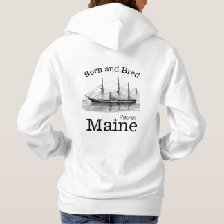 Personalize Made in your town, State Ship Hoodie