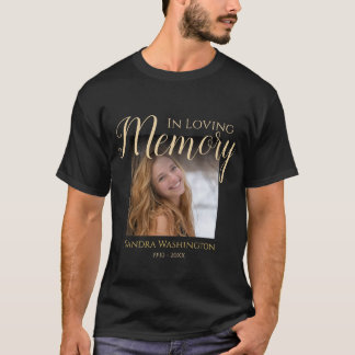 Personalized Photo Memorial T-Shirt
