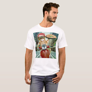 Pizza cat - cat - pizza delivery T-Shirt