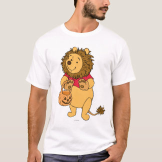 Pooh in Lion Costume T-Shirt
