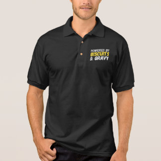 Powered By Biscuits And Gravy Polo Shirt