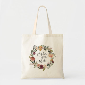 Rustic Bloom   Mother of the Bride Tote Bag