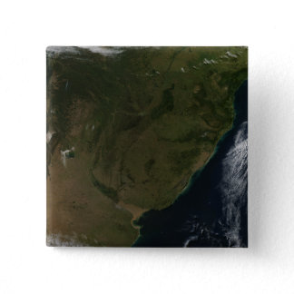 Satellite view of South America Button
