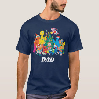 Sesame Street   Christmas with the Whole Gang T-Shirt