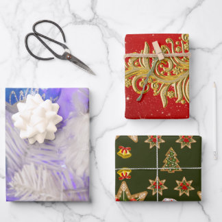 Small Christmas gifts Wrapping Paper Sheets