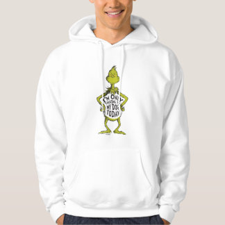 Snarky Grinch   Funny I'm Only Talking to My Dog T Hoodie