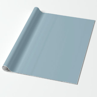 Solid Aquamarine Blue Wrapping Paper / Gift Wrap