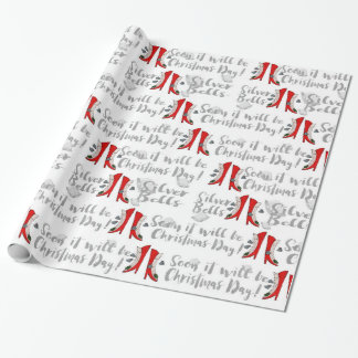 Soon It Will be Christmas Day! Wrapping Paper