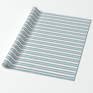 Southwest Winter Pines Wrapping Paper