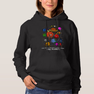 Space Party Planet Astronomy Cosmic Galaxy Hoodie