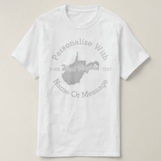 State Of West Virginia PERSONALIZED T-shirt