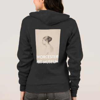 Study of a Young Woman - Zip Hoodie