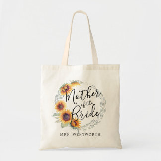 Sunflower Bloom   Mother of the Bride Tote Bag