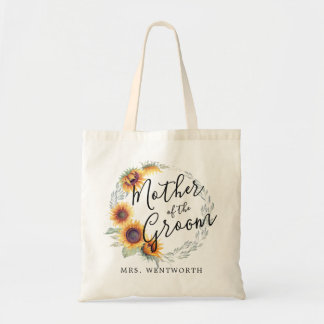 Sunflower Bloom   Mother of the Groom Tote Bag
