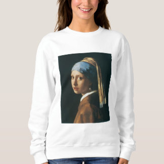 The Girl with a Pearl Earring Sweatshirt