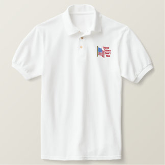 These Colors Don't Run Embroidered Polo Shirt