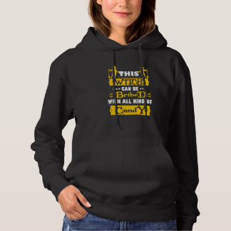 this witch can be bribed , halloween hoodie