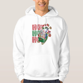 Tom and Jerry Delivering Gifts In A Sleigh Hoodie