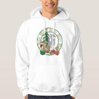 Tom and Jerry Opening Presents Hoodie