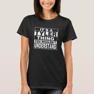 TYLER Surname Personalized Gift T-Shirt