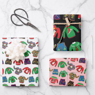 Ugly Christmas Sweater Wrapping Paper
