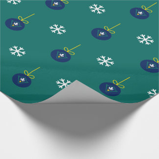 UNCW Seahawks Christmas Wrapping Paper