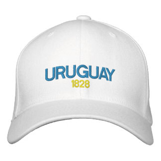 Uruguay Embroidered Hat