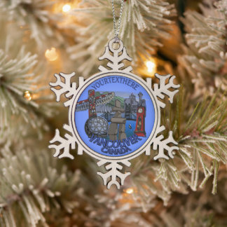 Vancouver Canada Christmas Ornaments Personalized