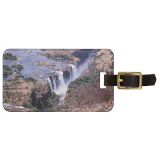 Victoria Falls aerial view - Zimbabwe, Africa Luggage Tag