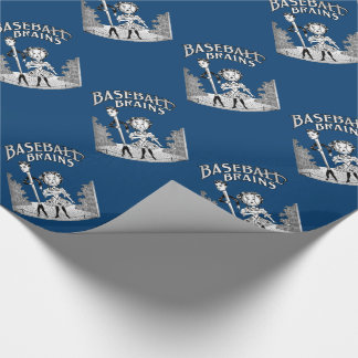 Vintage Baseball Design Wrapping Paper