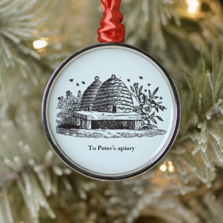 Vintage Bewick beehive traditional ornament