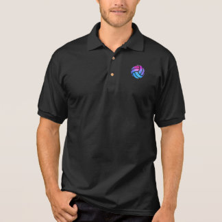 Volleyball Sport Fitness Gift Polo Shirt