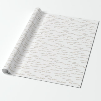 Winterland Holiday Wrapping Paper