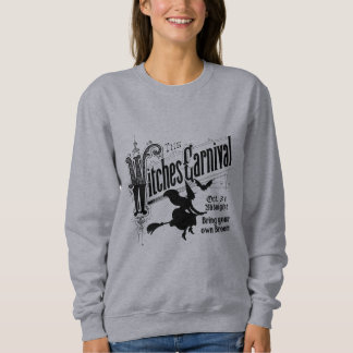 Witches Carnival for Halloween Sweatshirt